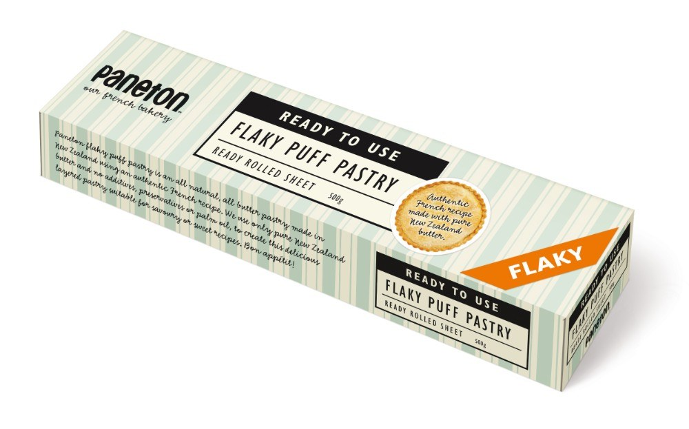 """Ready To Use"" flaky pastry"