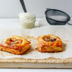 apple crumble danish 6 petits