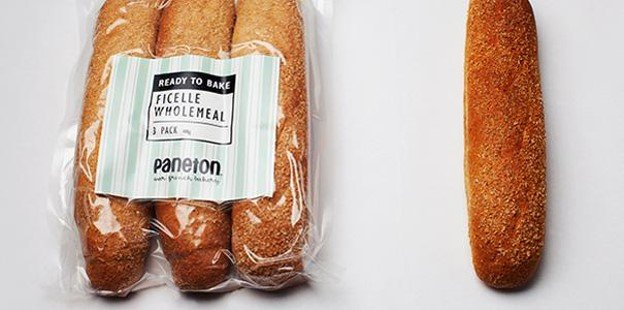 parbaked Ficelle Wholemeal Paneton