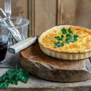 """Ready To Bake"" <br>Quiche Lorraine <br>Family size"