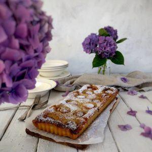 Apricot tart with frangipane recipe