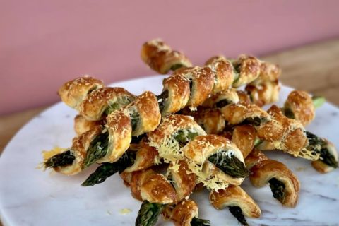 flaky pastry asparagus rolls recipe