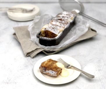 pain au chocolat pudding recipe