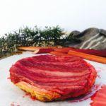 Rhubarb tart recipe