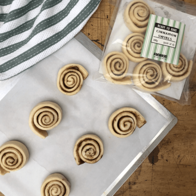 """Ready To Bake"" Cinnamon Swirls"