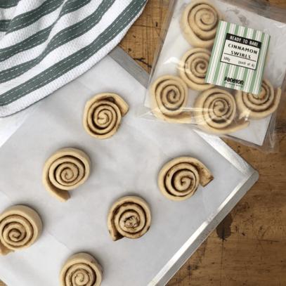 """Ready To Bake"" Cinnamon Swirls"