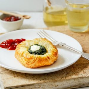 Spinach Feta Danish