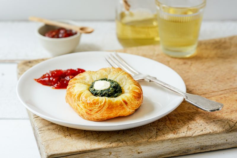 Spinach & Feta Danish