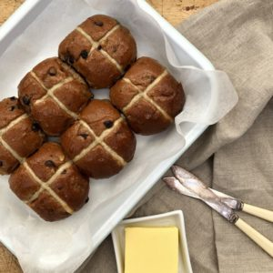 """Ready To Eat"" <br>Hot Cross Buns<br> 6 Grands"