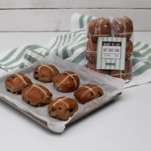 """""""Ready To Eat"""" <br>Hot Cross Buns<br> 6 Petits"""