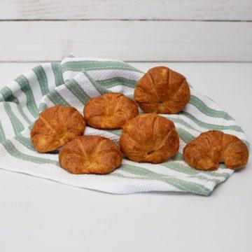 croissants 6 petits baked