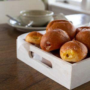 """Ready To Bake"" <br>Baker's Dozen<br> Garlic rolls"