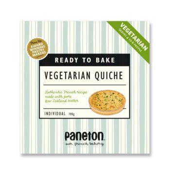 vegetarian quiche family size