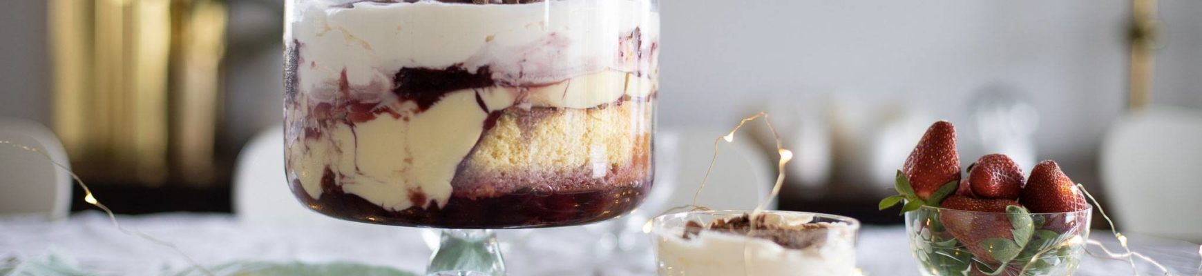 cherry trifle