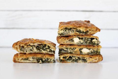 flaky pastry borek