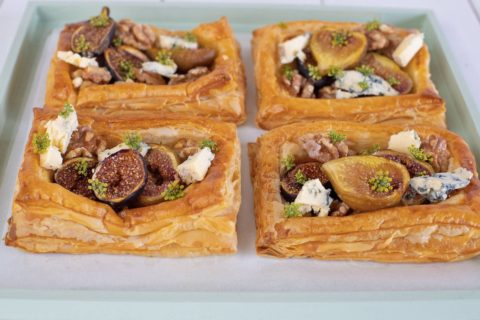 Fig Blue Cheese Fennel Galette
